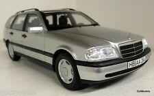BoS 1/18 Scale 193257 Mercedes Benz C200 T S202 Estate silver Resin Cast Model