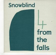(GH666) Snow Blind, 4 From The Falls - 2001 DJ CD