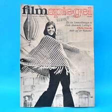 DDR Filmspiegel 14/1973 Frank Schöbel Chris Doerk Dieter Wien Heinrich Greif