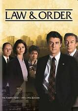 Law & Order - The Fourth Year New DVD