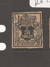Germany Hamburg SC 3 VFU slight thin (5cas)