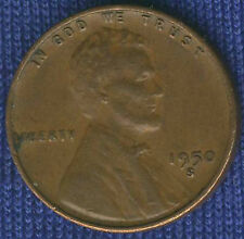 FINE ~ 1950-S Lincoln ** 99 CENTS most Wheat Penny Cent and FREE SHIPPING