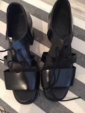 Cos découpe sandales en cuir (taille 39)