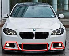 BMW F10 F11 5 SERIES 10-14 GENUINE M SPORT FRONT BUMPER GRILL SET OF 3 PIECES