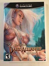 Baldur's Gate Dark Alliance - Gamecube - Replacement Case - No Game