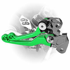 Pivot CNC Brake Clutch Levers for Kawasaki KX80/85 1998-2015 KX125/250 1990-2004