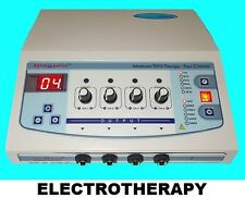 Electronic Massage Electrotherapy 4 Chanel Best Pain Rest Therapy GGGGG502
