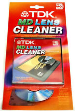 TDK MINI DISC LASER/ LENS CLEANER - HIGH QUALITY CLEANING x 10 [Full Box]