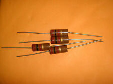 4 PIECES MADE IN JAPAN RIKEN OHM RM 100 OHM +/-5% 2W AUDIO GRADE CARBON RESISTOR
