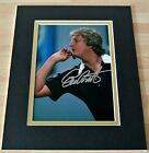 Eric Bristow SIGNED Autograph 10X8 Photo Mount Display Darts PROOF SIGNING COA
