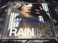 Rain It's Raining Bi Vol. 3 CD New Sealed K-POP KPOP OOP Rare Rain's World