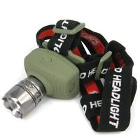 New Zoomable 5W 300Lm Focus CREE LED Headlamp Head Lamp Light Torch Flashlight
