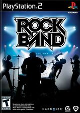 Rock Band PS2 Playstation 2 Game
