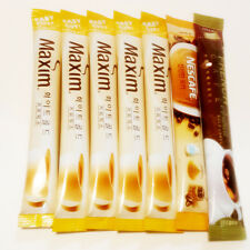 Maxim WhiteGold Nescafe Frechcafe Coffee Mix 7 Sticks 3in1 Instant coffee