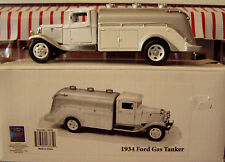 1934 FORD GAS TANKER - UNIQUE REPLICAS 1/43 SCALE - TIN'S METAL MANUFACTURY