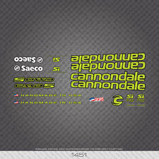 01451 Cannondale Bicycle Stickers - Decals - Transfers - Green With Black Key