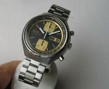 SEIKO 6138-8030 CHRONOGRAPH AUTOMATIC 40mm  STEEL VINTAGE  WRIST WATCH FOR MEN