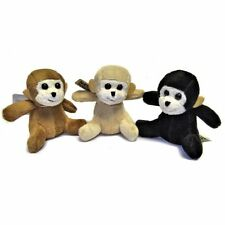Small Monkey Soft Toy - Plush Stuffed Animal - Suitable for all ages (0+)