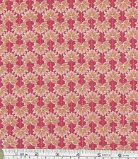 PATCHWORK/ CRAFT FABRIC FAT QTR LEWIS & IRENE MIN SHAN DESIGN LOTUS FLOWERS