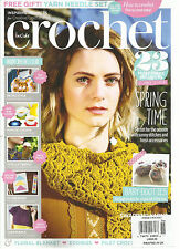 INSIDE CROCHET,  2016  ISSUE 76 ( INSPIRING PROJECTS FOR CREATIVE CROCHETERS