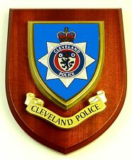 CLEVELAND POLICE SERVICE CLASSIC LICENSED HAND MADE WALL / MESS PLAQUE
