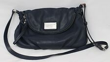 Marc by Marc Jacobs Navy Blue Leather Natasha Bag with Dust Bag