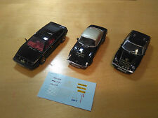 1/43 JPS TEAM LOTUS DECALS ESPRIT EUROPA ELAN  SPARK MANSELL FITTIPALDI PETERSON