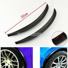 1Pair Car Wheel Arch Trims Extensions Arches Spats Universal