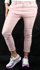 PLEASE Chinos P63 HOSE Jeans Neu S Rosa Used Look Made in Italy Fashion 256