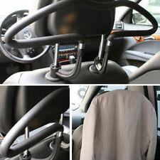 Black CoatCar Seat Headrest Coat Suit Clothes Stainless Steel Hanger