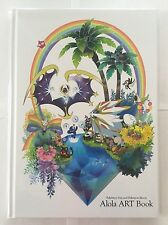Pokemon Center Original Limited Alola Art Book Pokemon Sun and Moon JAPAN IMPORT