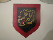 WWII LUFTWAFFE FIGHTER  LEATHER FLIGHT JACKET PATCH PAINT