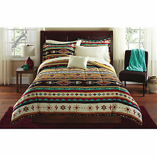 Kokopelli Bed in a Bag King Size 8pc Bedding Set American Southwest Symbols