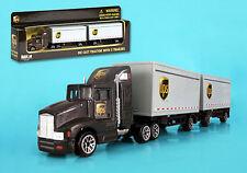 Ups maqueta de coche camión con remolque camiones 1:87 nuevo