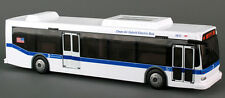"Daron 11"" City Bus MTA M4 CrossTown New York City metro 1:43 scale model D14"