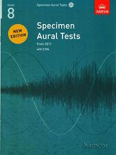 ABRSM Specimen Aural Tests Grade 8 Book/2 CD's - Same Day P+P
