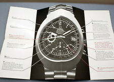 New old stock INSTRUCTION BOOKLET FOR OMEGA SPEEDMASTER CHRONOGRAPH MARK III NOS