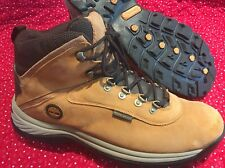 Timberland White Ledge 14176 Men 13 Wheat Nubuck Waterproof Ankle Boots - Defect