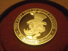 Walt Disney Bronze/Golden 999 First Cent of Uncle Scrooge Coin LE