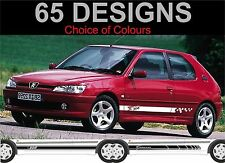 peugeot 306 side stripe decals stickers side stripes 2 off