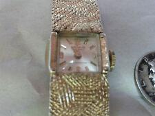 Vintage Belair 17 Jewels ladies wind up wrist watch shock resistant WORKS GREAT!