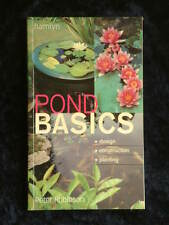 Peter Robinson - Pond Basics design construction planting of water features