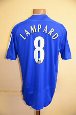 CHELSEA LONDON 2006/2007/2008 HOME FOOTBALL SHIRT JERSEY ADIDAS ENGLAND LAMPARD