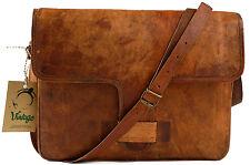 """New Vintage Messenger Bag Crossbody Bag  Office Bag Laptop Bag MacBook Bag 17"""""""