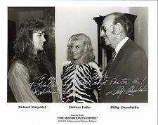 *THE IRONBOUND VAMPIRE (1997) Signed Photo By DOLORES FULLER & Philip Chamberlin