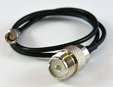 "COMET HS-10 39"" ADAPTER CABLE, SMA MALE TOSO-239.FREE SHIPPING 3 YR WARRATY"