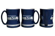 Seattle Seahawks Coffee Mug - 15oz Sculpted [NEW] Tea Warm Microwave Cup CDG