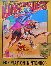 Nintendo NES Game Cartridge KING OF KINGS: THE EARLY YEARS