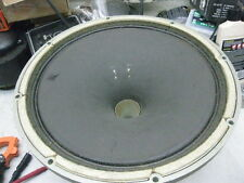 "1 early  Tannoy silver 15"" monitor  with  Xover  #  01347"