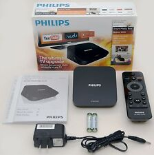 NEW Philips HMP2000/37 HD Smart Media Box HDTV HDMI 1080p netflix WiFi youtube